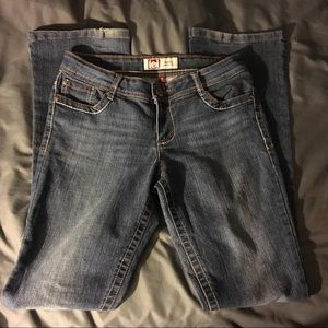 LEI Ashley Lowrise Bootcut Jeans GUC